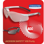 JACKSON SAFETY V20 PURITY EYEWEAR
