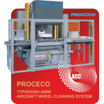 PROCECO Aircraft Wheel Washer
