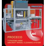 PROCECO Aircraft Wheel Washer