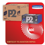 KIMTECH P2 AVIATION WIPES