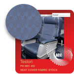 PN 5861 402 SEAT COVER FABRIC STOCK