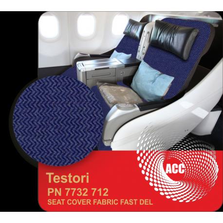 PN 7732 712 SEAT COVER FABRIC FAST DEL