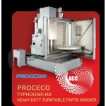 PROCECO TYPHOON®-HD HEAVY-DUTY TURNTABLE